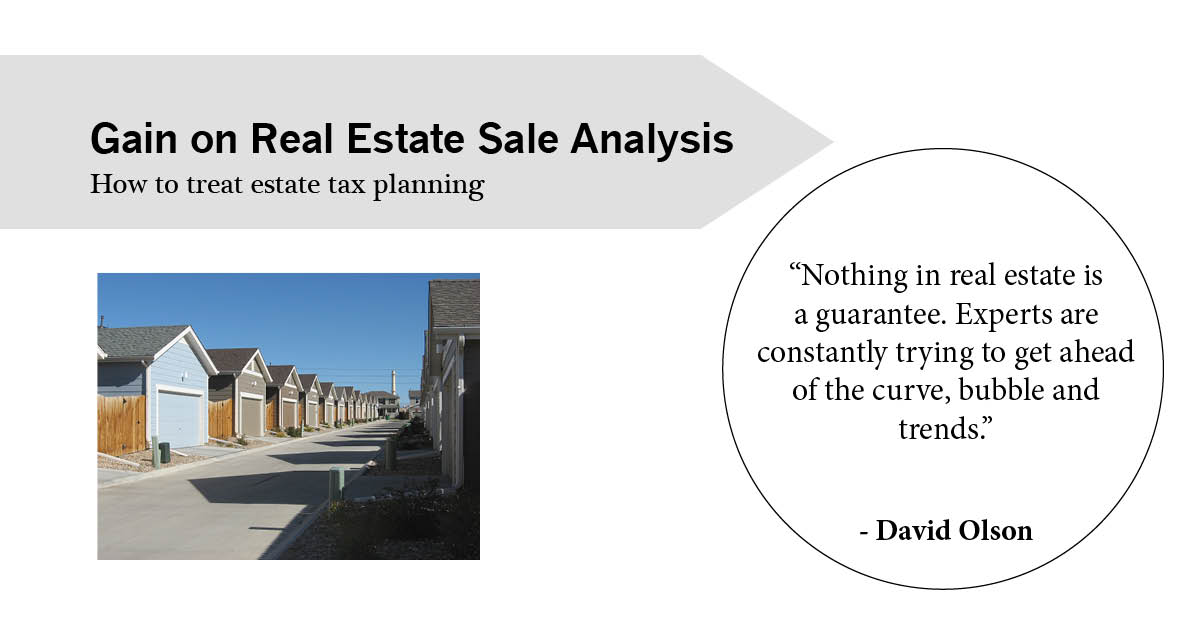 real estate analysis Residential real estate residential real estate may contain either a single family or multifamily structure that is available for occupation or for non-business purposes.
